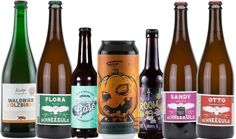 Ausgefallene Getränke - Bierauswahl
