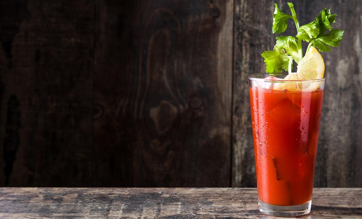 Der Bloody Mary ist mit rund 120 Kalorien der kalorienärmste Cocktail.