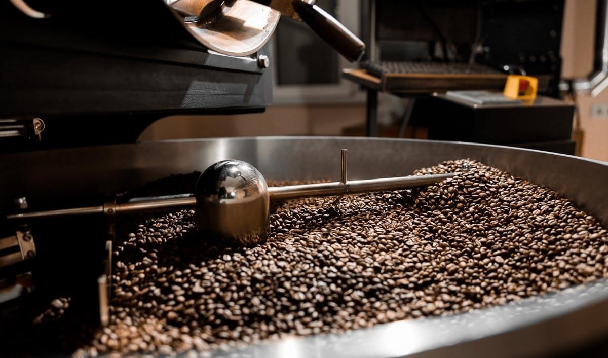 Erst durch die Röstung entfaltet der Kaffee sein Aroma