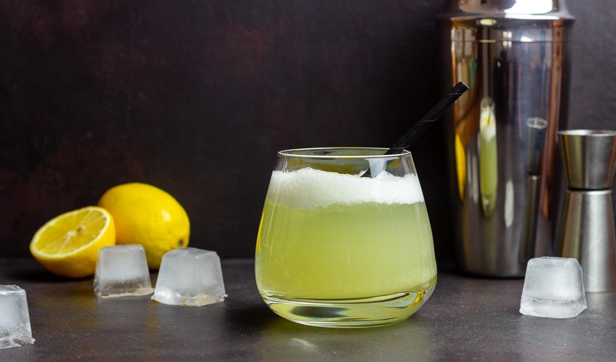 Alkoholfreier Whisky Sour Rezept