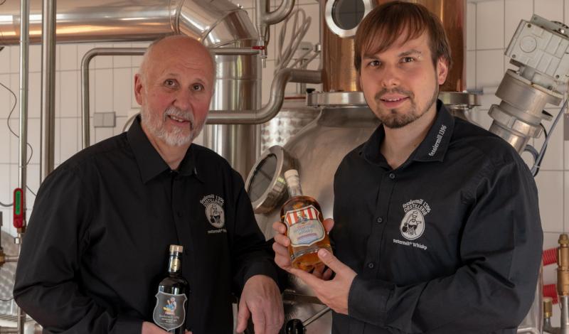 Fessler Gin & Whisky mit Wolfgang und Tobias