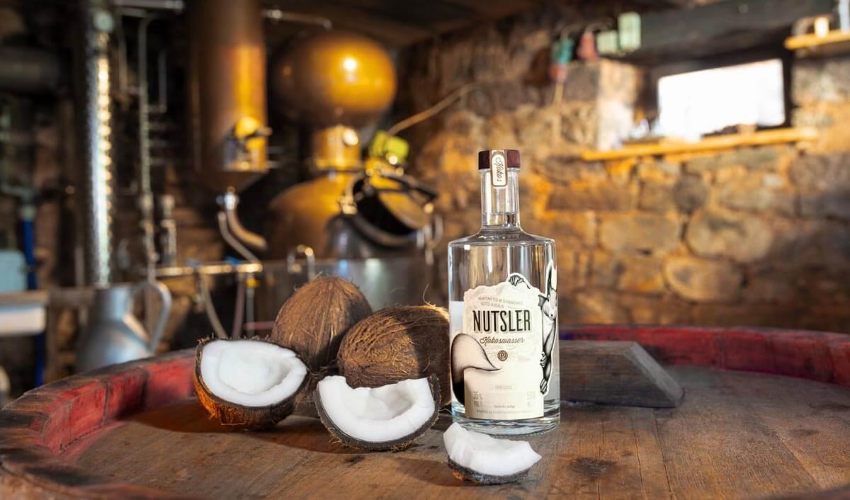 Nutsler Kokoswasser Beauty Shot