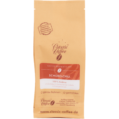 Aromatisierter Kaffee - Schoko-Chili