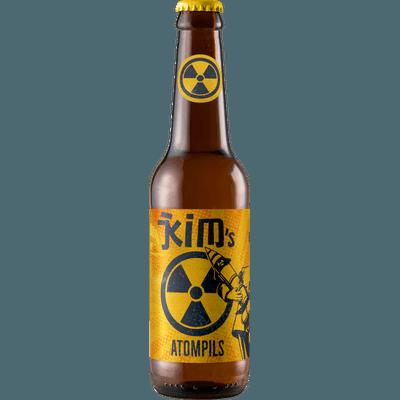 """12x """"Kim's Atompils"""" Dump Beer Süddeutsches Pils"""