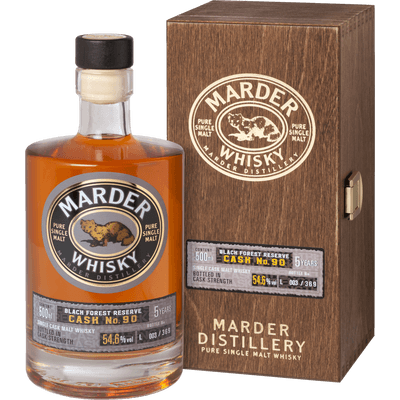 "Marder Whisky BLACK FOREST RESERVE ""Cask No.90"""