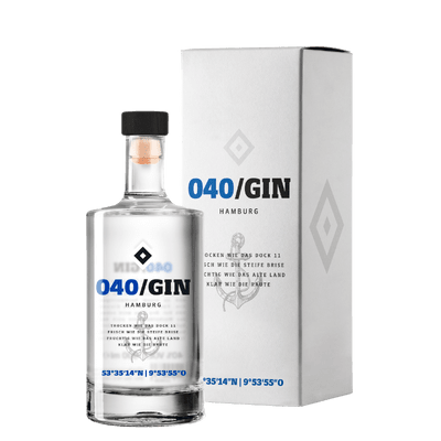 040/GIN - London Dry Gin Mini