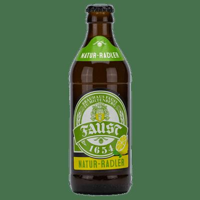 Brauhaus Faust Natur-Radler 0,33 l