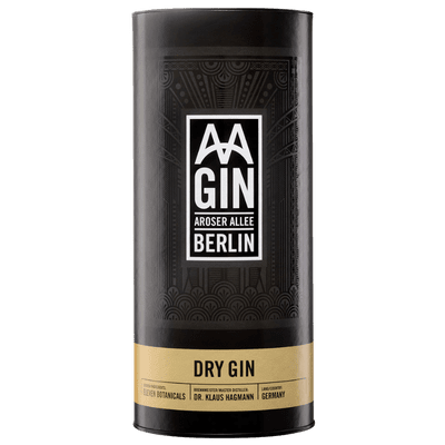 AAGin - Dry Gin Verpackung