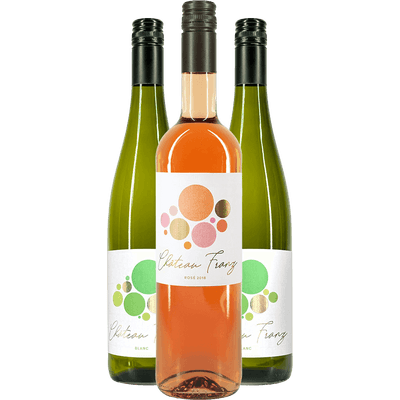 Château Franz Probierpaket - 3x Wein (2x Weißwein + 1x Rosé)