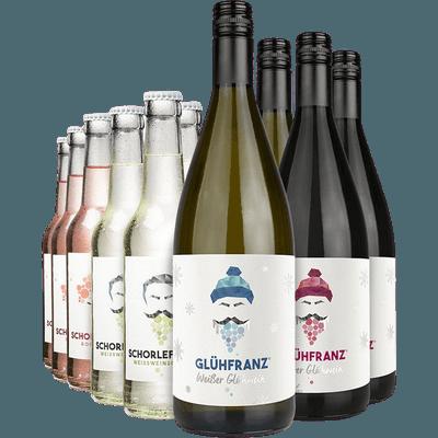 Herbstparty - 4x Glühwein + 8x Weinschorle