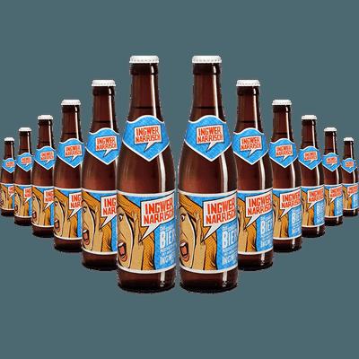12x Ingwer Narrisch - Biermischgetränk aus Märzenbier und Bio-Ingwer-Sirup