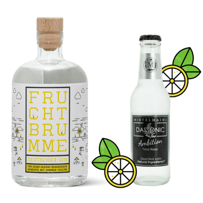 Manukat Gin & Tonic Probierset (1x Fruchtbrumme + 3x Mistelhain DASTONIC Ambition)