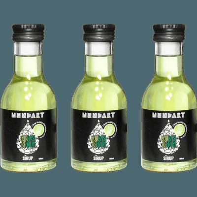 3x MUNDART® Gurke-Basilikum-Sirup