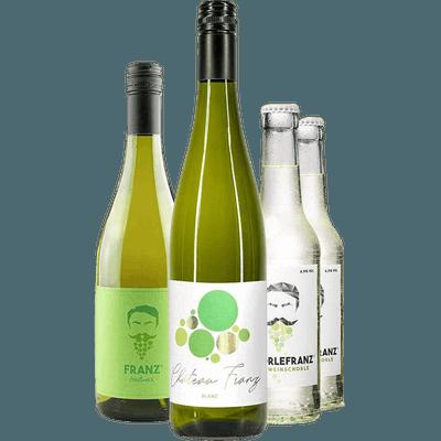 4x Wein - Schorlefranz Probierpaket Weißwein