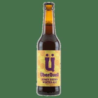 ÜberQuell Honey Brown Winter Ale