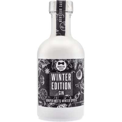 Monsieur Sauer Winter Edition Gin — 200ml