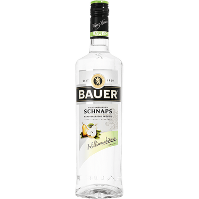 Williamsbirnen Schnaps
