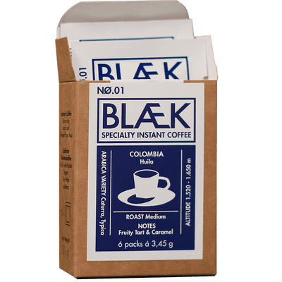 BLÆK Specialty Instant Coffee NØ.1