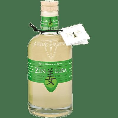Zingiba Ingwer Zitronengras Liqueur