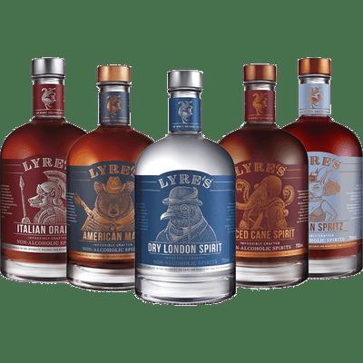 Lyre's Alkoholfreie Spirituosen - Probierpaket