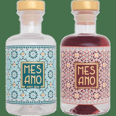 MESANO Martini Set (Mini Dry Gin + Mini Vermouth)