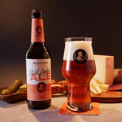 ROTSIEGEL Probierset (3x American India Pale Ale + 3x Mild Amber Ale) Beauty Shot