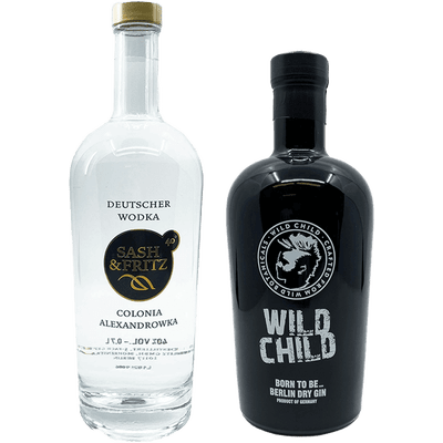 Sash & Fritz Probierpaket (Vodka + Dry Gin)