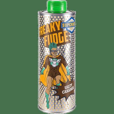Freaky Fudge | Karamell Salz Likör | Superhero Spirits | Flasche Front