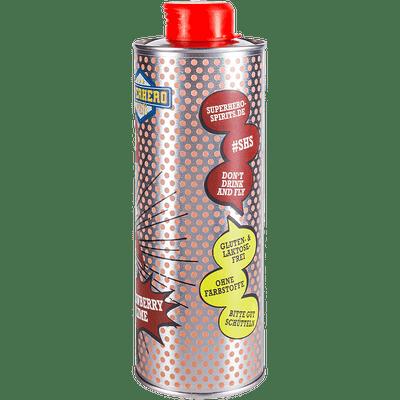 Lady Limes | Erdbeer Limes | Superhero Spirits | Flasche Seite 2
