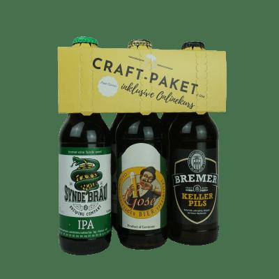 Craft-Paket - die Bierbox mit Online-Tasting (6x Biere á 0,33l)
