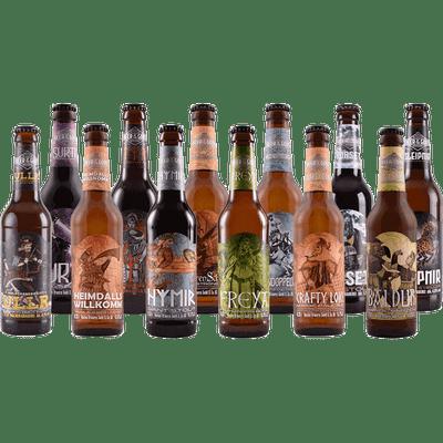 Craft Beer Rundum-sorglos-Paket - bis 12x verschiedene Biere von Wacken