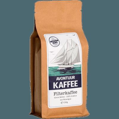Avontuur Filterkaffee, Kaffeewünsche: Ganze Bohne, 250g