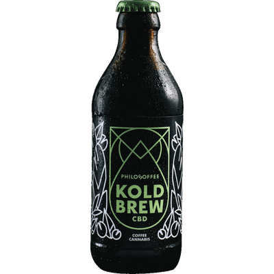 4x Koldbrew CBD - Cold Brew Coffee mit CBD