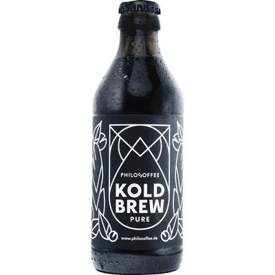4x Koldbrew Pure - Cold Brew Coffee