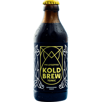 4x Koldbrew Tonic - Cold Brew Coffee mit Tonic Water