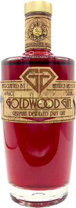 Goldwood Gin Coral Red Blossom