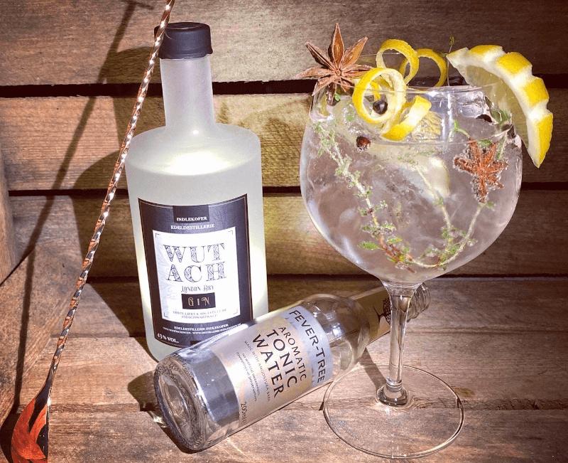 WUTACH London Dry Gin war der 1. Gin der Edeldestillerie Indlekofer - entwickelt unter dem neuen Brennereileiter Marco