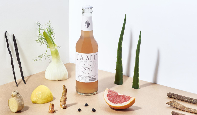 Jamu Limonade mit Dekoration