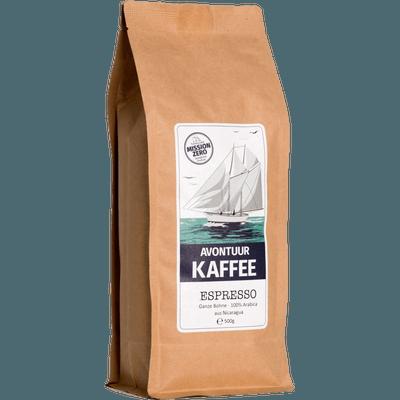 Avontuur Espresso, Kaffeewünsche: Ganze Bohne, 500g
