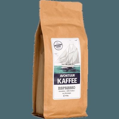 Avontuur Espresso, Kaffeewünsche: Gemahlen, 500g