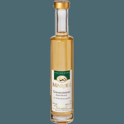 Marder Gravensteiner Apfelbrand - im Eichenholzfass gereift, 200ml