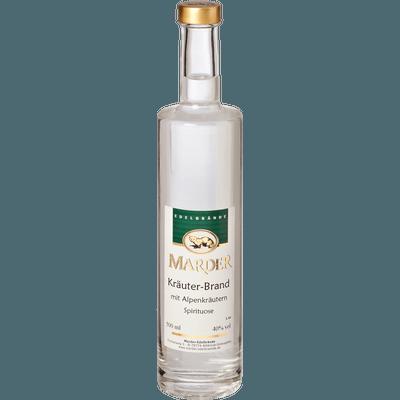 Marder Kräuter-Brand mit Alpenkräutern, 500ml