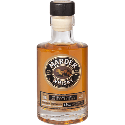 Marder Single Malt Whisky - Limited Edition 2018, 200ml