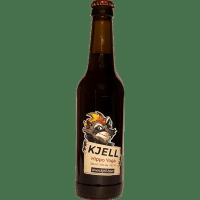 6x Kjell.Beer - Hippo Yoga