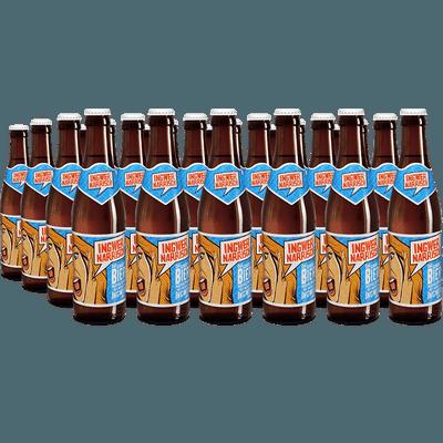 24x Ingwer Narrisch - Biermischgetränk aus Märzenbier und Bio-Ingwer-Sirup