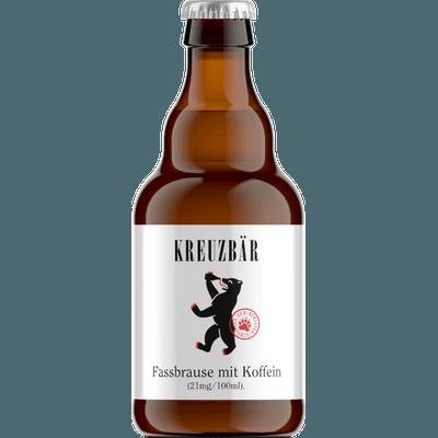 12x KREUZBÄR – Berliner Fassbrause mit Koffein je 0,33L