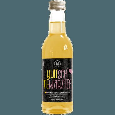 MUNDART® Quitte-Schwarztee-Sirup