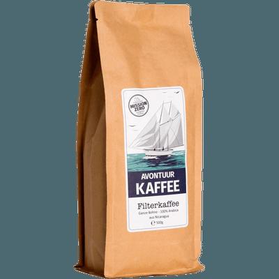 Avontuur Filterkaffee, Kaffeewünsche: Ganze Bohne, 500g