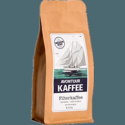 Avontuur Filterkaffee, Kaffeewünsche: Gemahlen, 250g