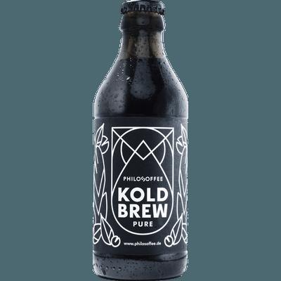 4x Koldbrew Pure - Cold Brew Coffee